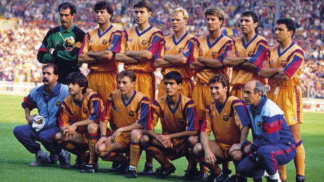 Alineación Wembley 92