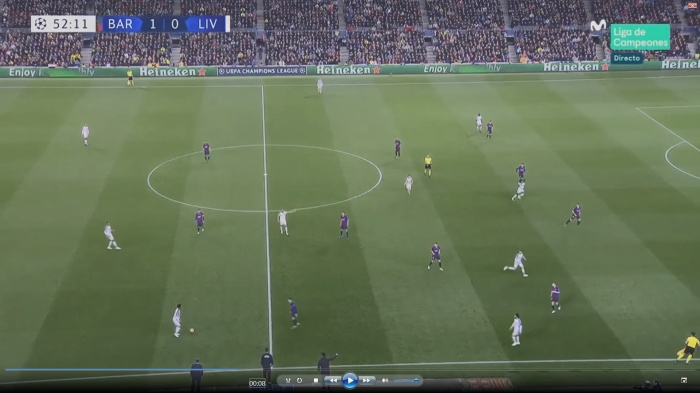 Imagen 4. Ofensiva del Liverpool