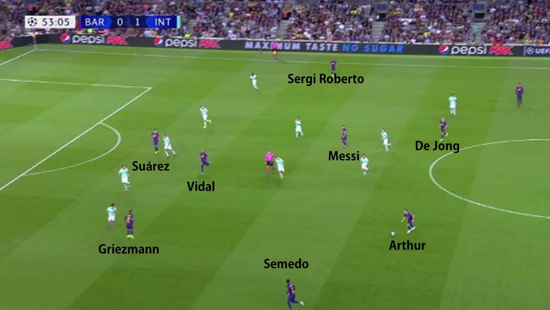 Posicionamiento con la entrada de Vidal2